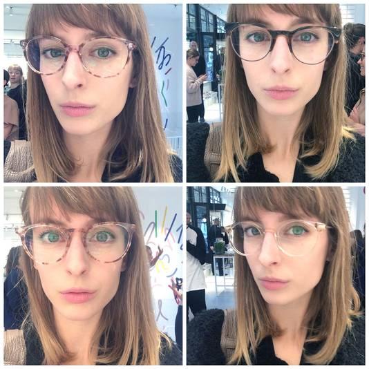 Redactrice Sophie ondervond aan de levende lijve wat een bril al niet met je gezicht kan doen