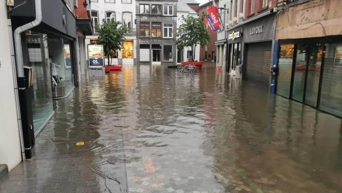 """Winkelstraat opnieuw onder water: """"Maar schotten houden stand"""""""