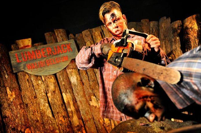 Walibi pakte uit met een groot Halloween-programma met onder andere de moordlustige houthakker Lumberjack.