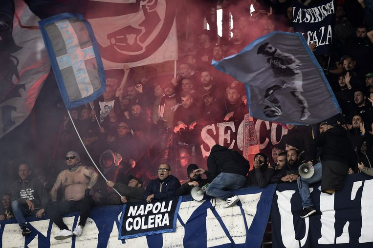 Napoli-supporters.