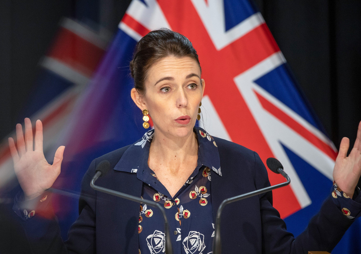 Jacinda Ardern. Beeld Photo News