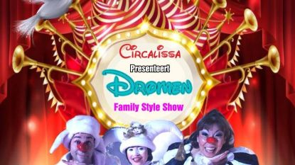 Circusvoorstellling Circalissa aan Mikerf