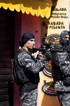 Politieactie in sloppenwijk van Rio de Janeiro loopt uit de hand: 25 doden, onder wie één agent