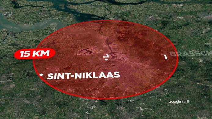 PFOS-vervuiling reikt ook tot 15 km buiten Zwijndrecht