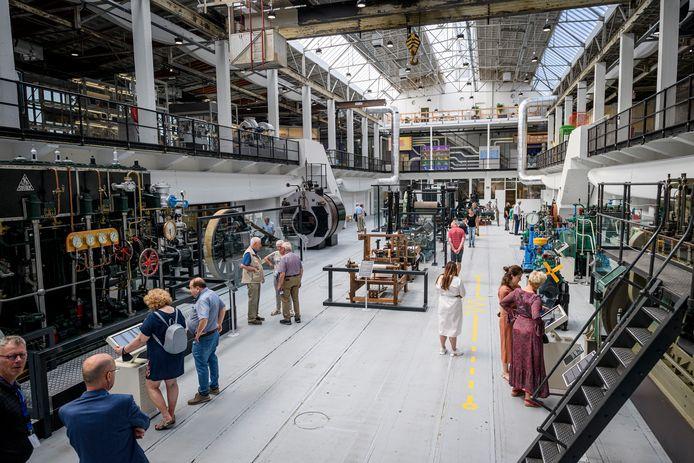 Serie afgekocht - TT-2021-10556 HENGELO - Techniekmuseum Oyfo opent vandaag voor het eerst voor publiek.   EDITIE: HENGELO FOTO: Emiel Muijderman EVM20210718