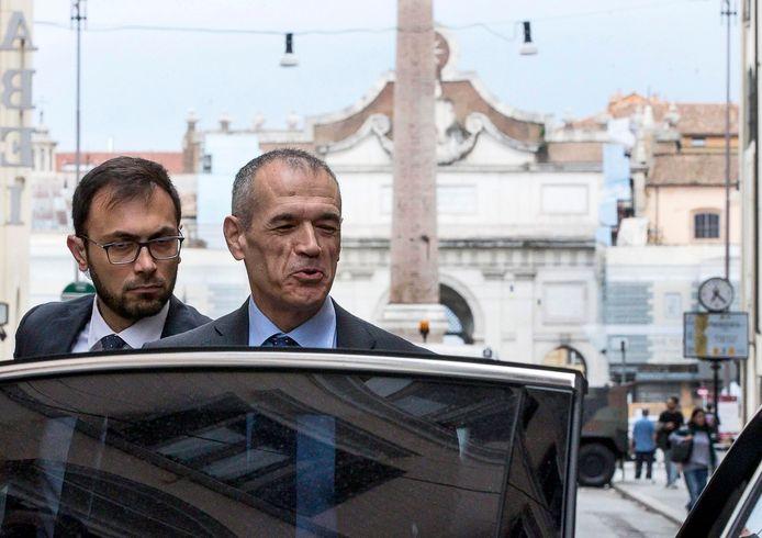 Carlo Cottarelli, kandidaatpremier van Italië