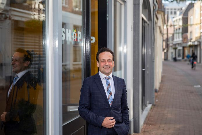Marcel Bregman is wethouder en heeft onder meer de binnenstad in zijn portefeuille.