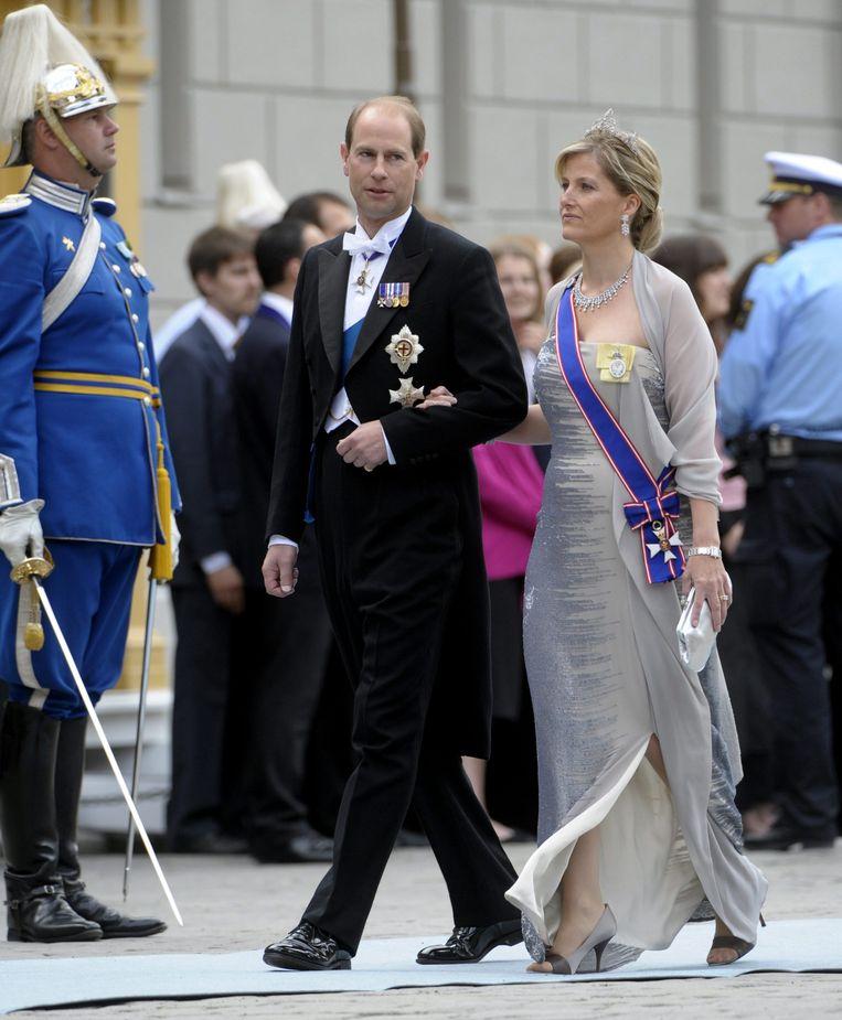 Prins Edward en zijn vrouw, Sophie.