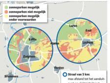 Ruimte voor grote zonneparken in Lochem is beperkt