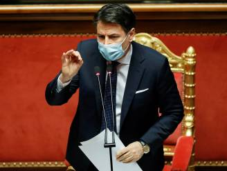 Italiaanse premier Conte kondigt morgen ontslag aan als premier