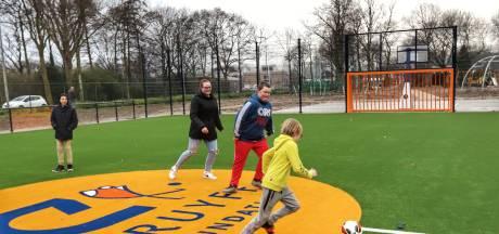 Cruyff Court van Frenkie de Jong komt op de plek van de voetbalkooi in Arkel