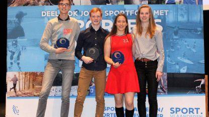 Sportraad huldigt talentvolle jonge sporters