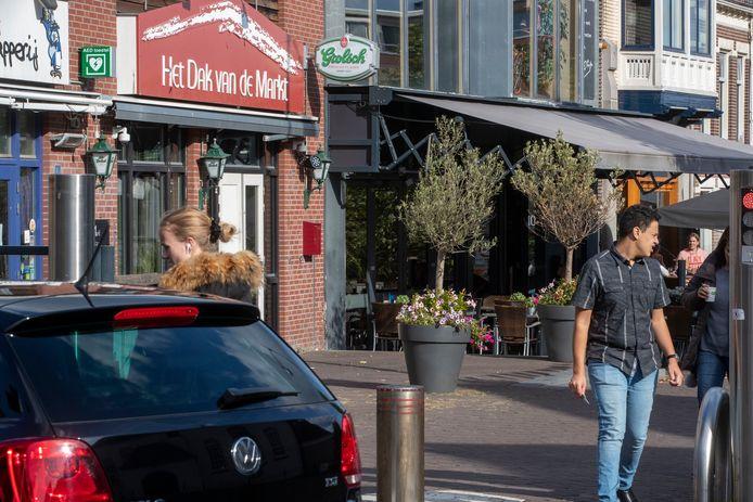 Café Dak van de Markt, een van de plekken waar de afgelopen jaren lachgas werd verkocht.