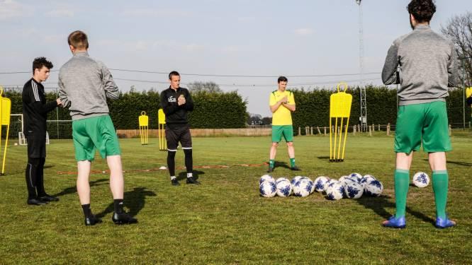 """Sint-Lenaarts hervat als eerste amateurclub de trainingen: """"Hopelijk plukken we hier in de competitie de vruchten van"""""""
