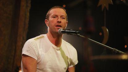 """Chris Martin: """"Over anderhalf jaar treden we op in België"""""""