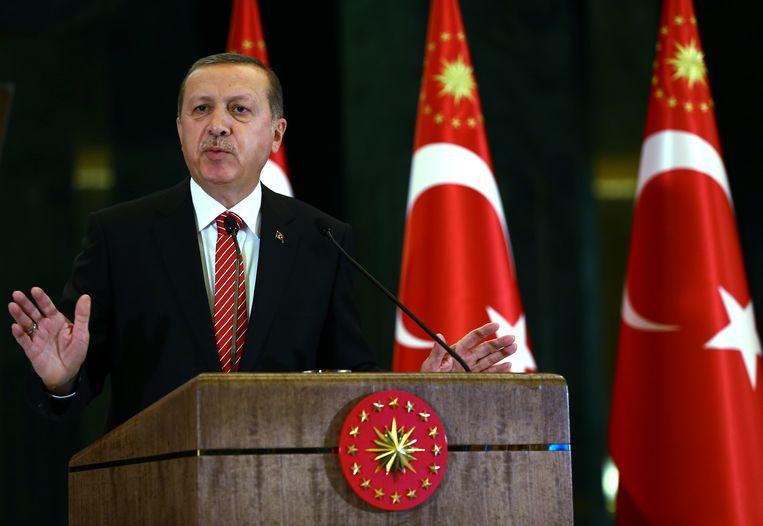 Turkse president Erdogan Beeld ap