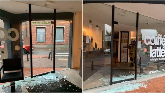 Brutale inbraak in kapsalon/koffiehuisje: veel schade, maar daders maken 'slechts' 1.000 euro buit
