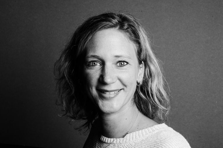 Els van Driel: 'Ze worden achtervolgd door nachtmerries en zitten na aankomst vaak zwaar depressief in een azc. Is dat wat we willen in Europa?' Beeld Anna van Kooij