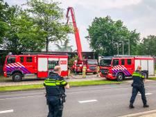 Veel rookontwikkeling bij brand in leegstaande sauna Prinsejagt Eindhoven
