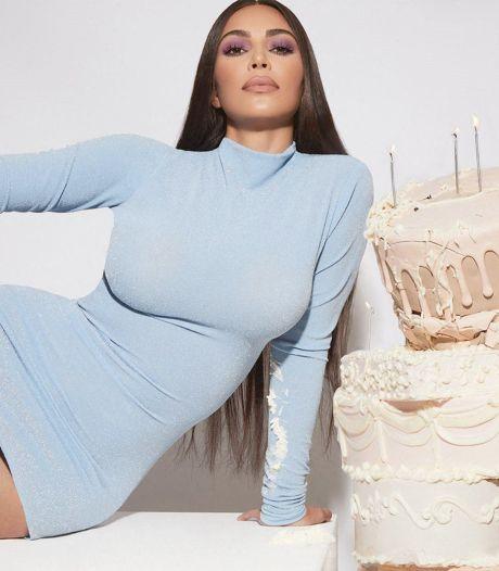 Kim Kardashian enflamme Instagram à l'occasion de son 40e anniversaire