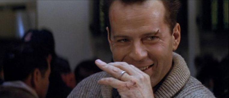 Bruce Willis in Die Hard 2. Beeld