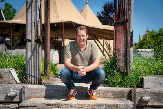 """Joost Frijlink, directeur van Watergoed in Slijk-Ewijk. ,,Ik ga er vanuit dat vanaf eind augustus alle of bijna alle maatregelen voorbij zijn."""""""