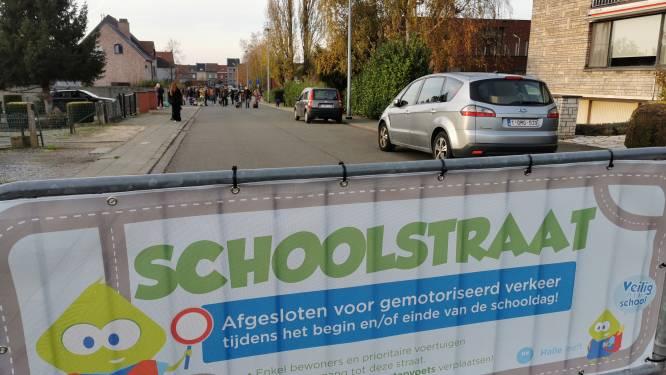 Drie scholen in Groot-Halle krijgen definitief een schoolstraat