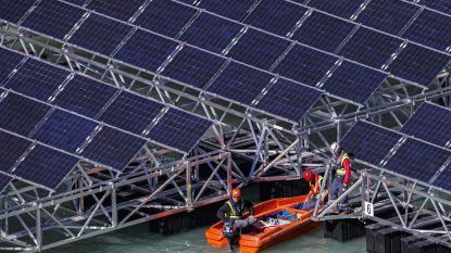 Eerste zonnefarm op Noordzee doorstaat stormen