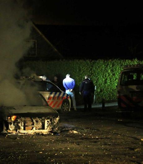 Opnieuw auto's in brand gestoken in Veen