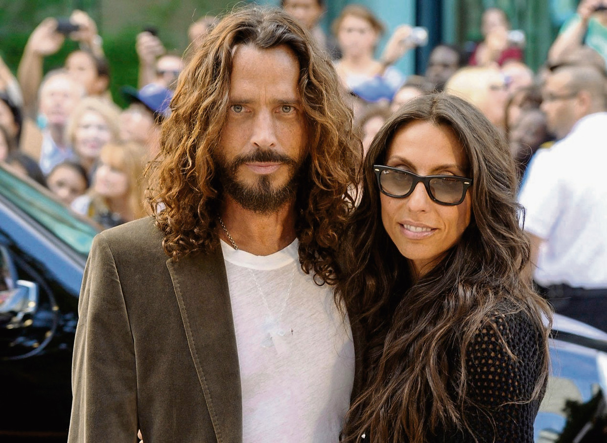 Chris en Vicky Cornell Beeld Getty Images