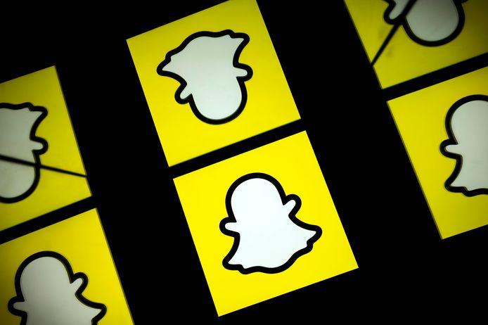 Logootjes van Snapchat.