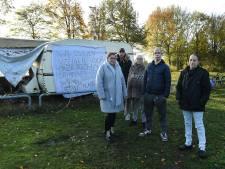 Woonwagens zijn weer terug op veldje in Boxmeer: 'We passen niet in een gewone straat'