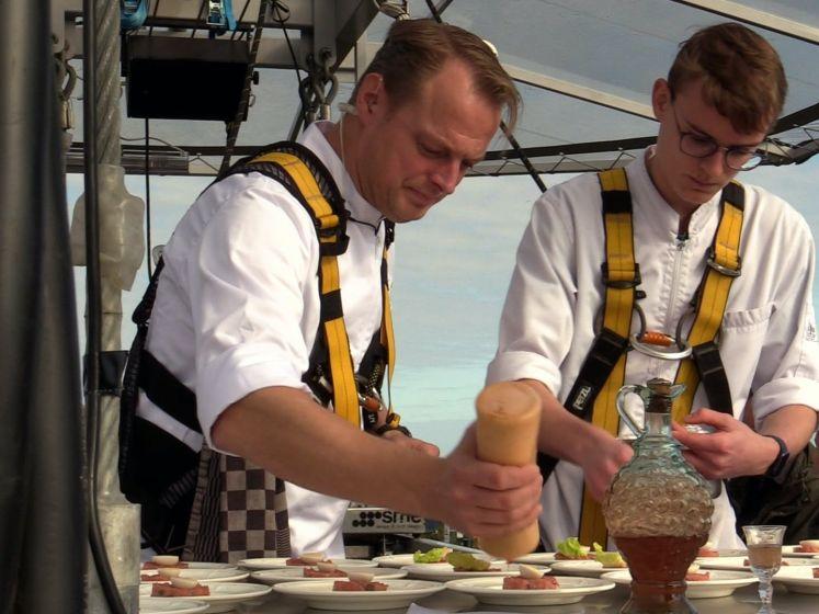 Dineren op 50 meter hoogte in Sint-Oedenrode