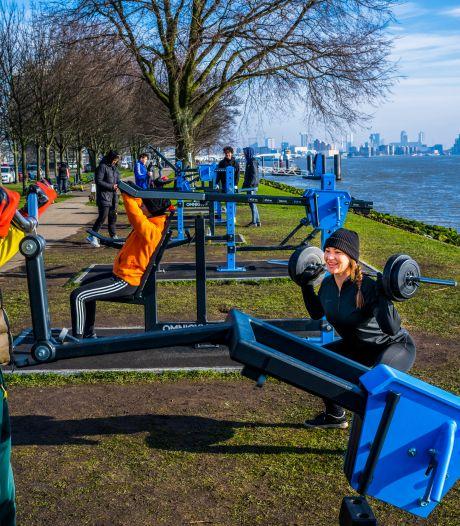 Spijkenissers kunnen volgende week fitnessen langs Oude Maas