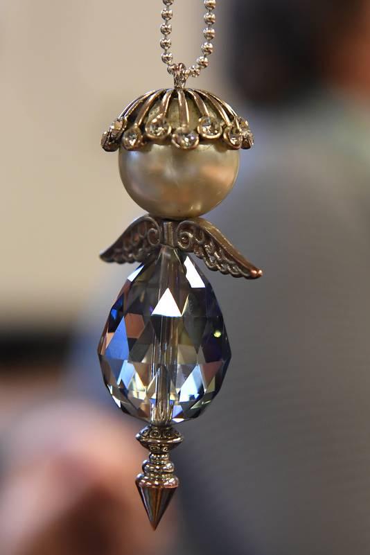 Het engeltje als  symbool van de stichting.
