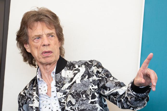 "Mick Jagger lors de la promo de ""The Burnt Orange Heresy"" à la Mostra de Venise, ce 7 septembre 2019"