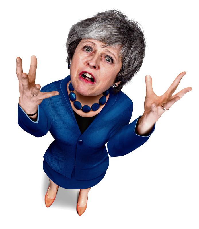 Wanhoop bij Theresa May