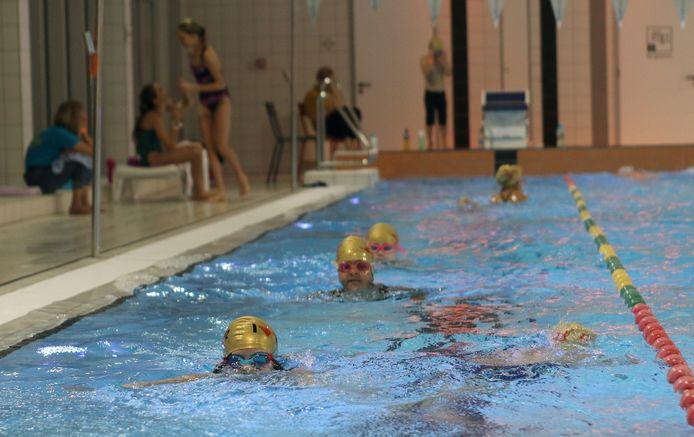 Zwemmarathon.