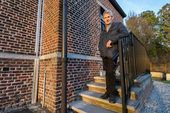Willy Van Aelst, voorzitter van de kerkfabriek in Eversel.