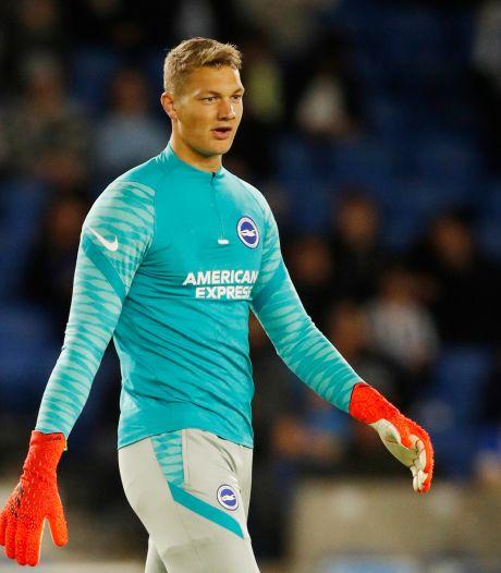 Derde doelman Kjell Scherpen heeft geen spijt van keuze voor Brighton: 'Ik voel dat ik vooruit ga'