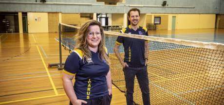 Kersverse voorzitter (26) wil het Oldenzaalse Icarus zichtbaarder maken: 'We zijn met 120 leden een kleine badmintonclub'