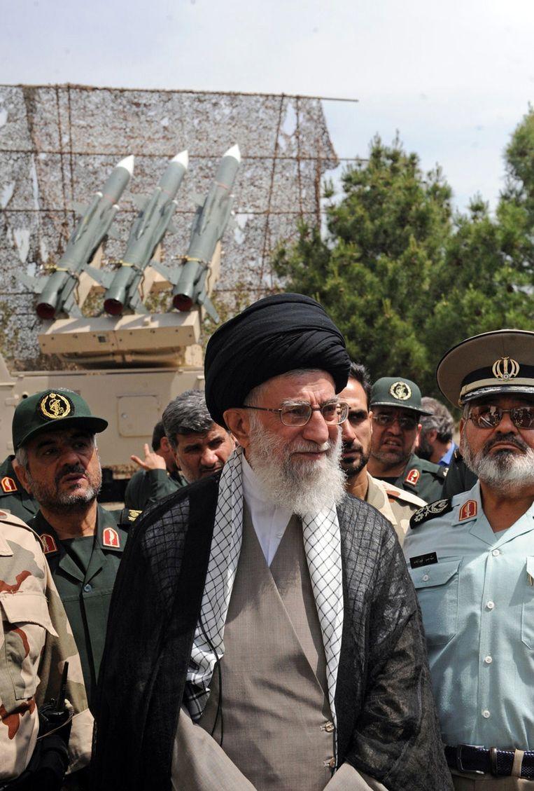 De Iraanse Ayatollah Ali Khamenei. Beeld afp