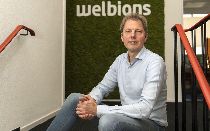 Directeur Harro Eppinga van wooncorporatie Welbions:
