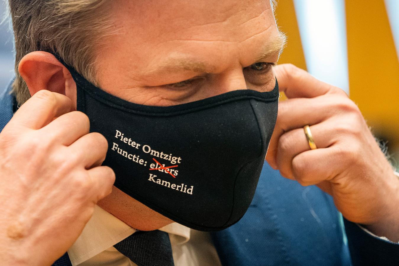 Pieter Omtzigt afgelopen maart tijdens de installatie van de nieuwe Tweede Kamer.