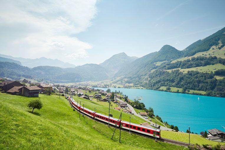 Trein door Europa Beeld Getty Images