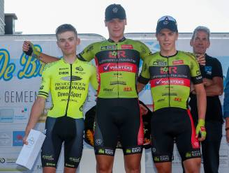 """Zelenaar Kenneth Caethoven op podium in Berlare: """"Ploegenspel pakte perfect uit"""""""