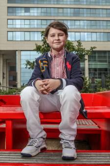 Laurent, 11 ans, plus jeune diplômé universitaire de Belgique