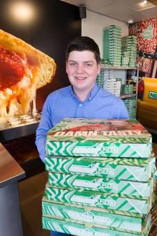 22-jarige Jordy van drop-out tot pizzakoning