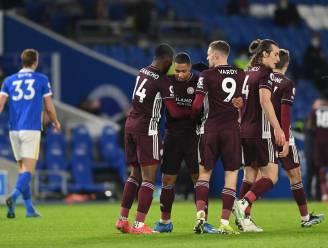 Leicester vermijdt met dank aan assist Tielemans op de valreep puntenverlies tegen Brighton