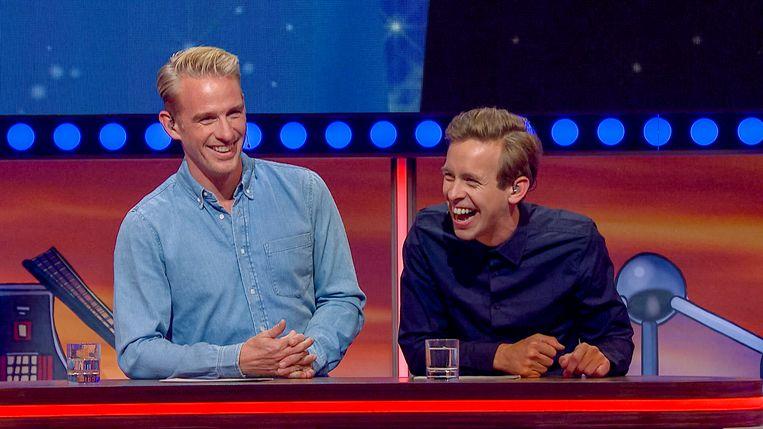 Jonas van Geel (r.) zal de show samen met de Nederlander Art Rooijakkers presenteren.